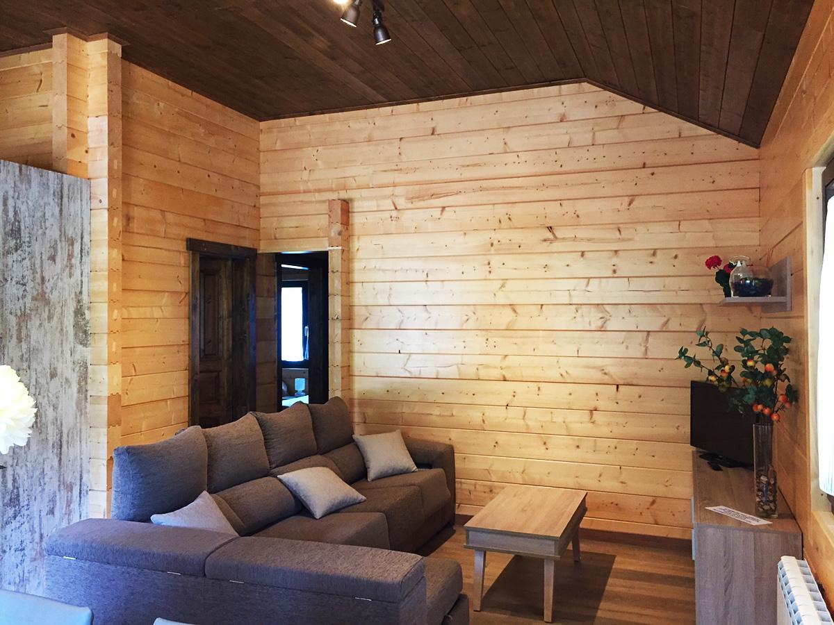 casas de madera en jaca pirineos complejo cerrado y exclusivo de alta calidad
